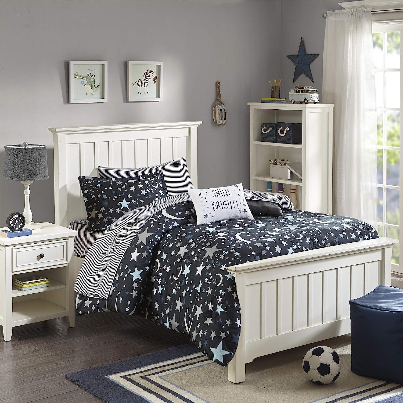 Amazon Com Jla Home Inc Mi Zone Kids Starry Night Full Comforter