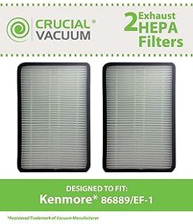 kenmore vacuum bags 50403. 2 pk kenmore 86889 ef-1 exhaust hepa vacuum filter, compare to part# bags 50403 n