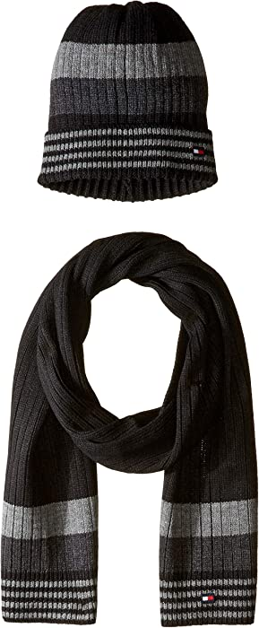 ec15c2652bdf0 Tommy Hilfiger Men s Hat and Scarf Set