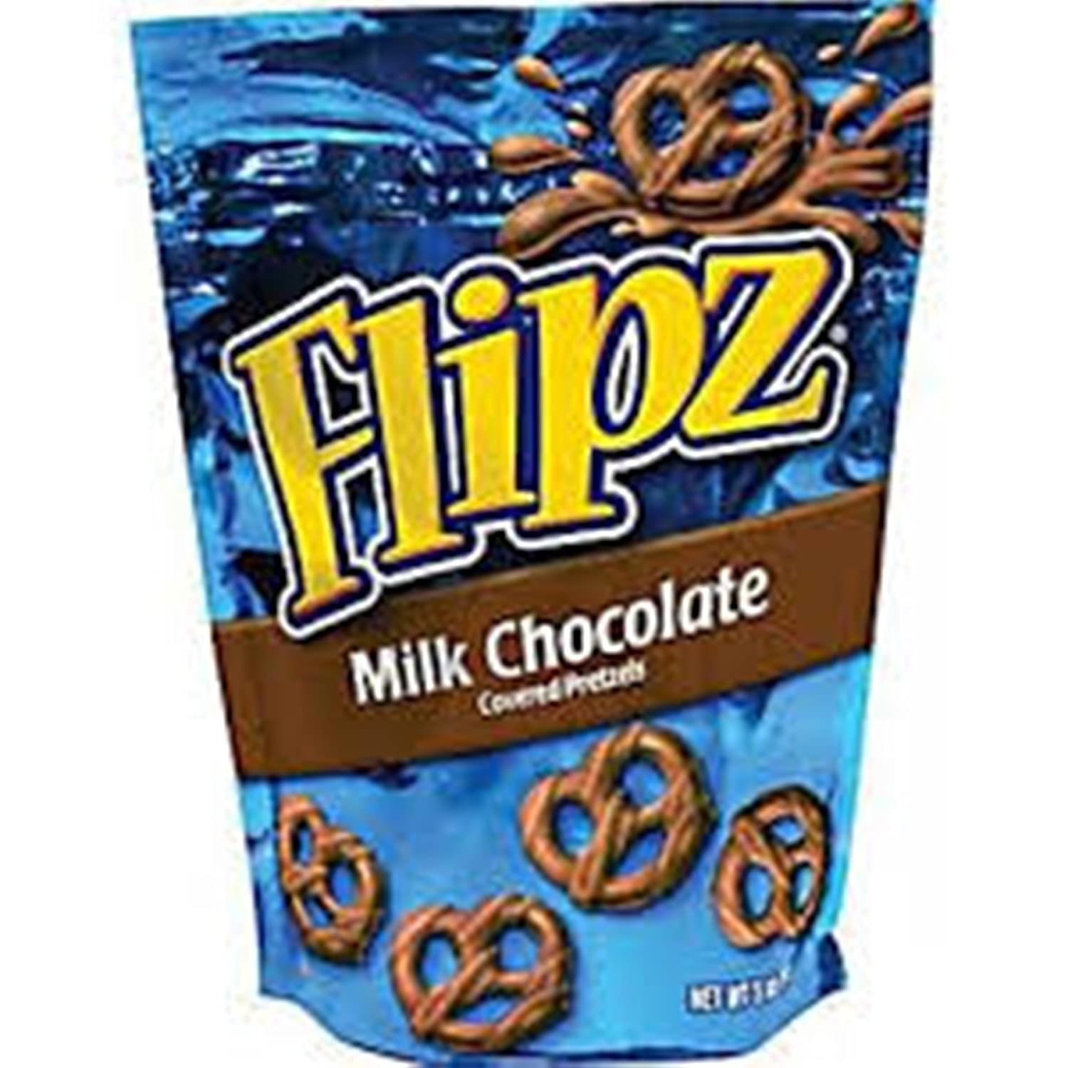 Amazon.com : Demet'S Flipz Pretzels, Milk Chocolate, 5 oz ...
