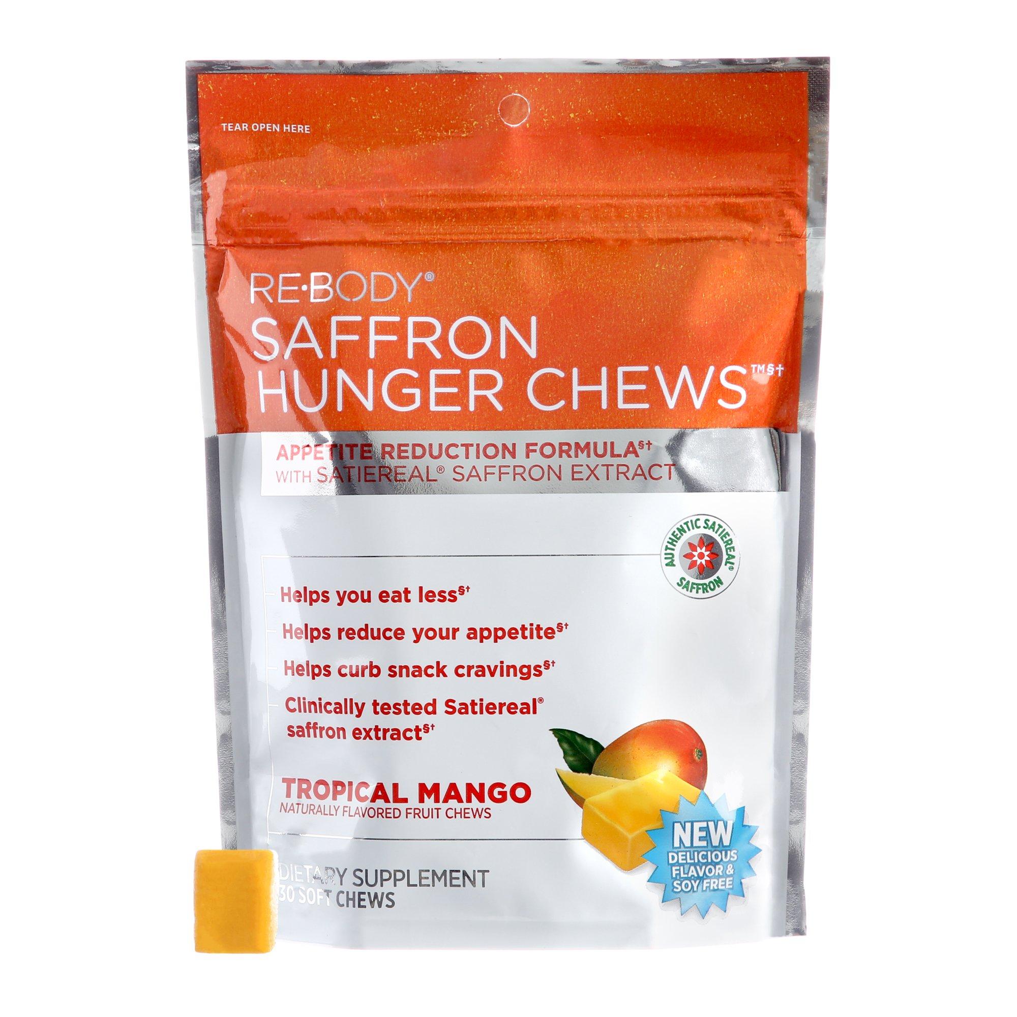 Saffron Hunger Chews Appetite Control Formula 30 Soft Chews