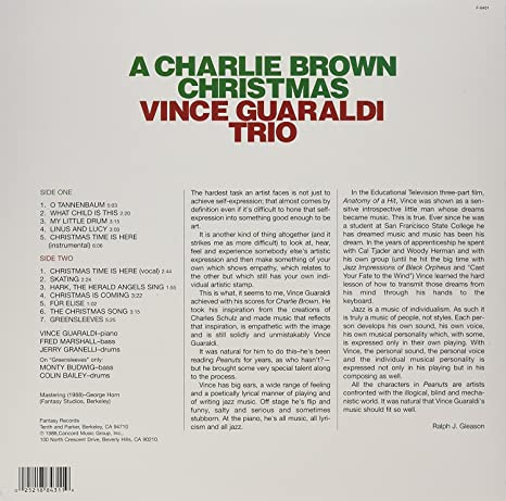 charles schulz a charlie brown christmas lp amazoncom music - Charlie Brown Christmas Song Lyrics