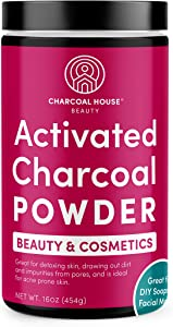 Bamboo Activated Charcoal Powder - Beauty and Cosmetics