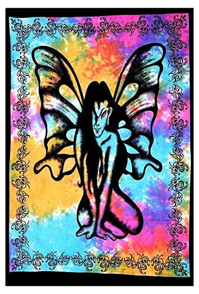 Buy Butterfly Women Wall Decor Bohemian Small Mandala Tapestry Throw Wall  Decal Hippie Tye Die Wall Hanging Online at Low Prices in India - Amazon.in fd82dba1d