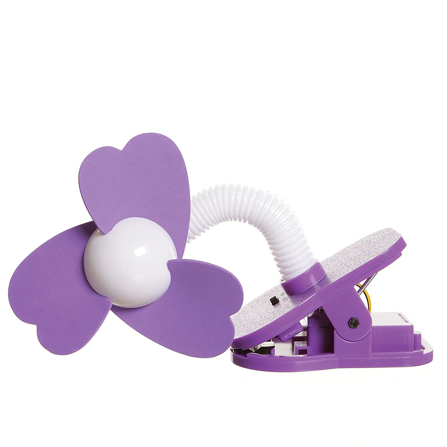 Dreambaby Stroller Fan Purple//White