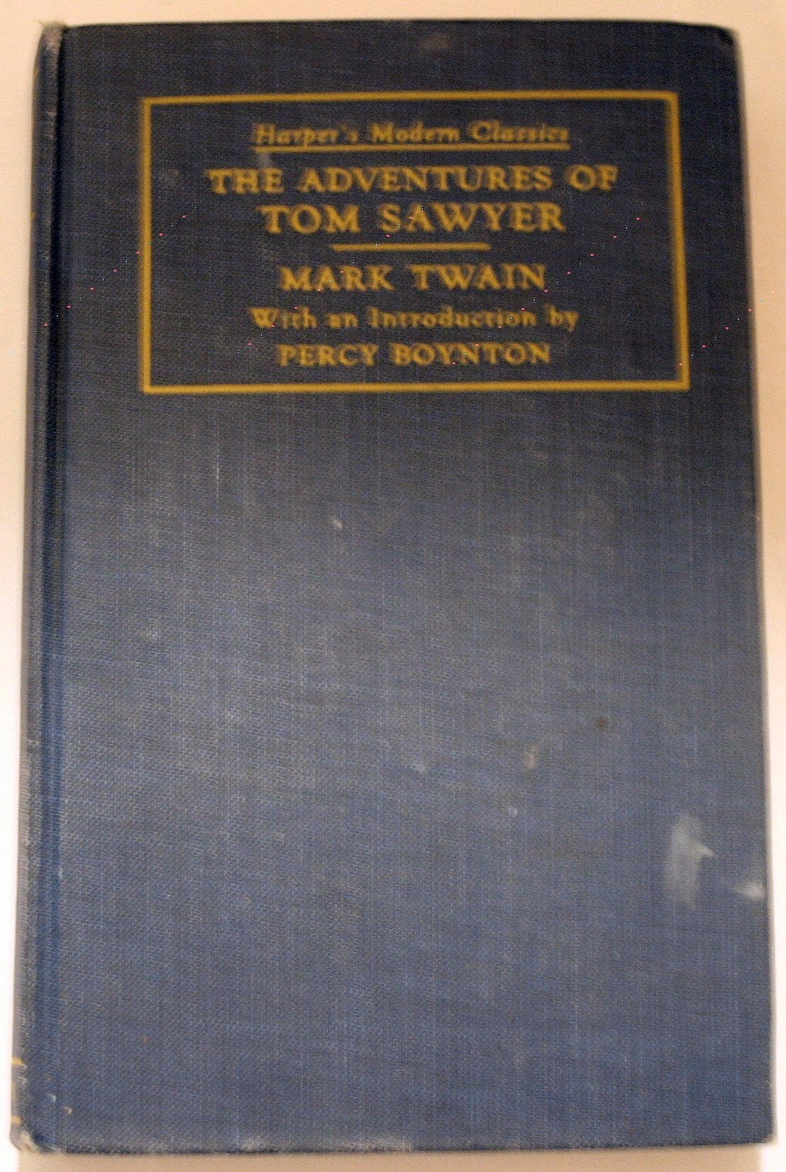 Harper & Brothers The Adventures of Tom Sawyer (Harper's Modern Classics):  Mark Twain, Percy Boynton: Amazon.com: Books