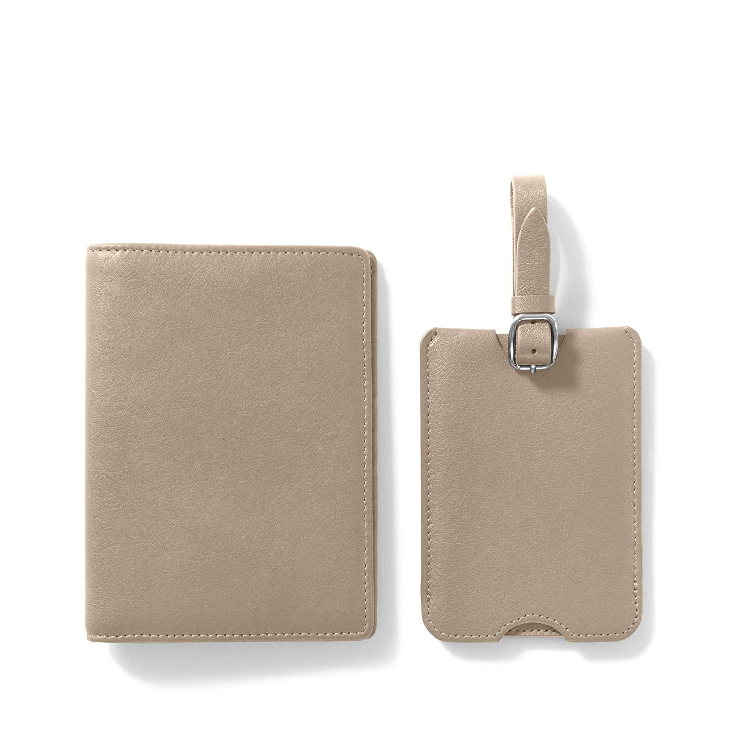 Deluxe Passport Cover Luggage Tag Set