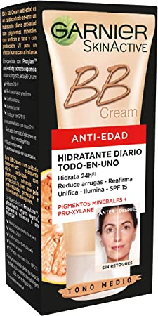 BB Cream con extracto de pomelo y Pro-xylane, que reduce visiblemente las arrugas y reafirma la piel