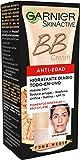 Garnier Skin Active - BB Cream, Crema Hidratante Anti Edad Todo en 1, Pieles Maduras, Tono Medio, 50 ml