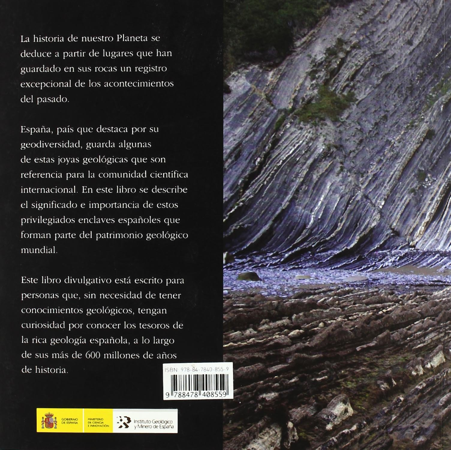 Proyecto Geosites. Aportación española al patrimonio geológico ...