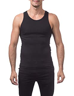 4a21429f6568c Galaxy by Harvic Single and 3-Pack Mens Heavy-Weight Ribbed Tank ...