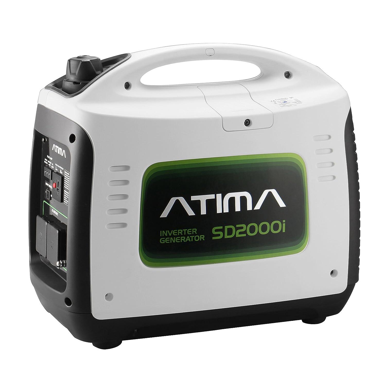 Atima Inverter Generator 2000W Quiet Portable 4 Stroke Petrol