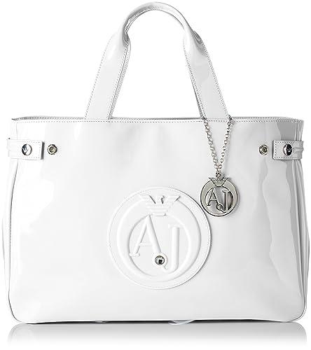 64c7e4a8cc7c Armani Jeans 922591cc855, Sacs portés main femme - blanc - Weiß (BIANCO  00010)