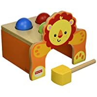Happy People 41207 - Banco in legno con martelletto Fisher Price