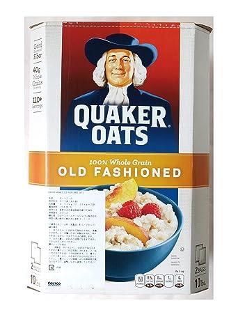 Quaker Oats Quaker Avena Old Fashioned paquetes incluyen 4.52kg 2.26kgX2