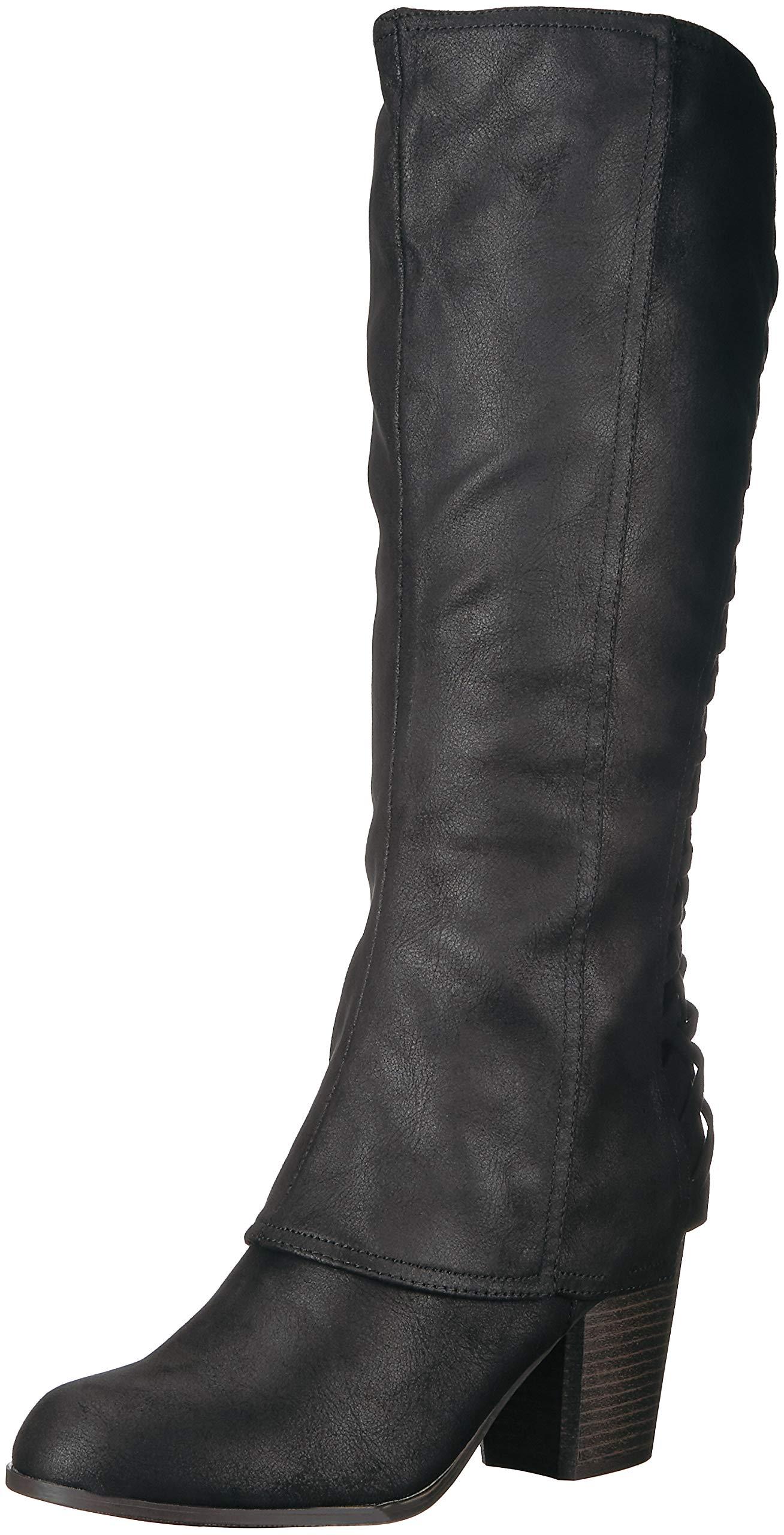 Fergalicious Women's Tootsie Knee High Boot, Black, 10 M US