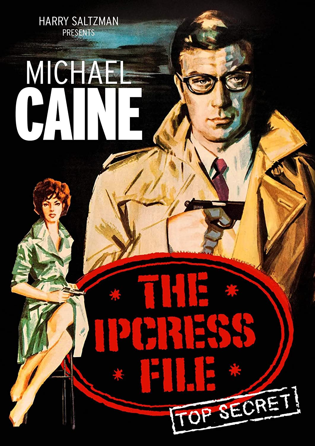 Amazoncom The Ipcress File Special Edition Michael Caine Nigel Green  Guy Doleman Movies  TV