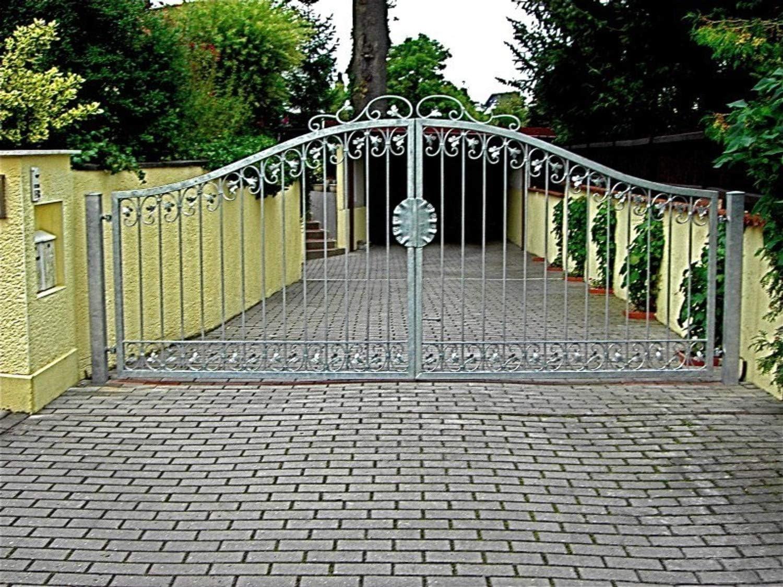 –Puerta hoftor Jardín Metal Hierro forjado Monaco de GT350/40S–Galvanizado