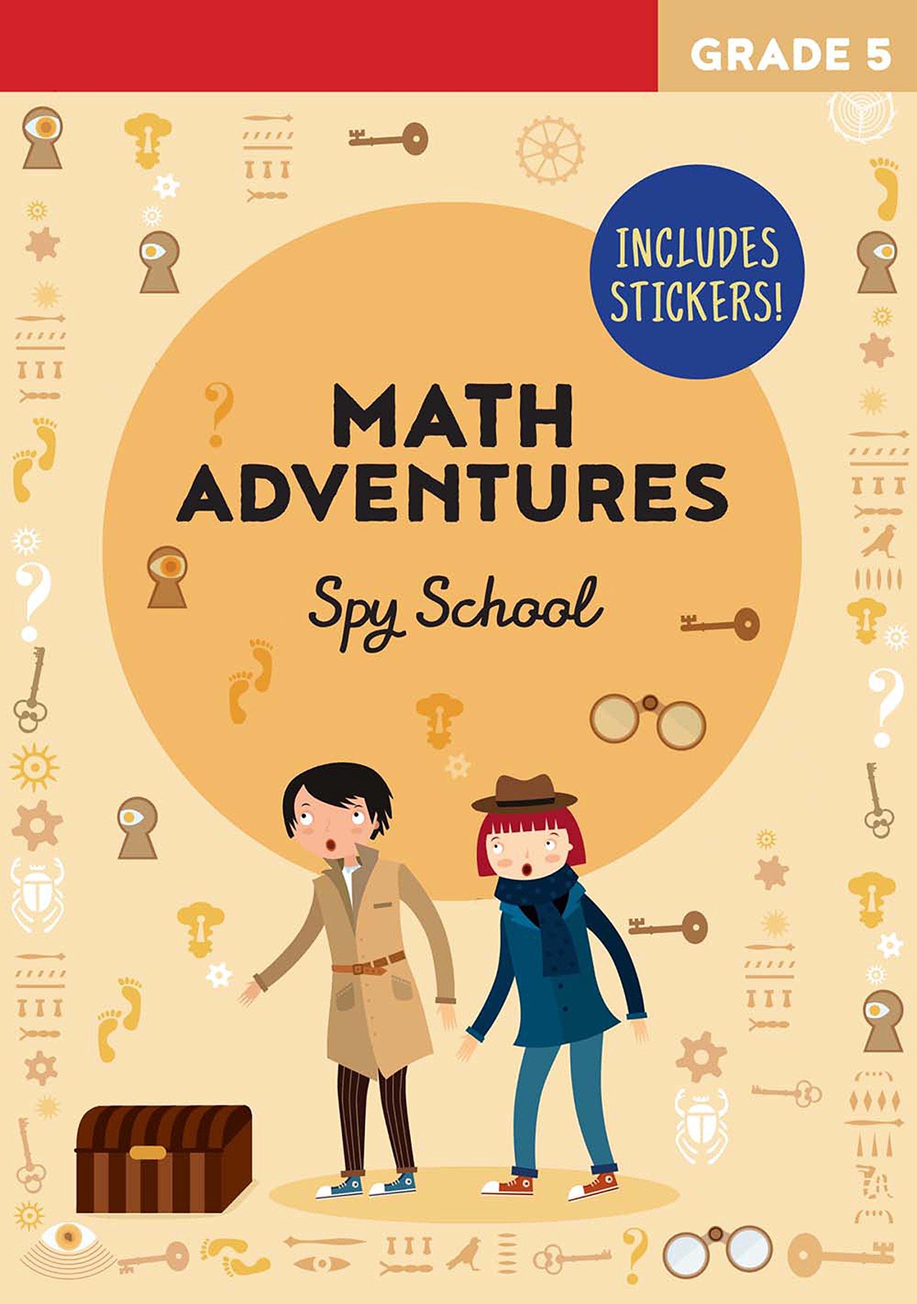 Math Adventures Grade 5: Spy School