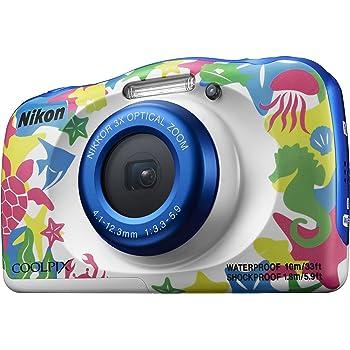 Auch Nikon stellt Kameras für Kinder in auffälligen Designs her.