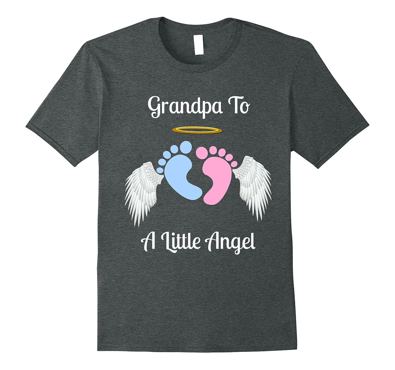 Grandpa Pregnancy and Infant Loss awareness Angel Tee-RT