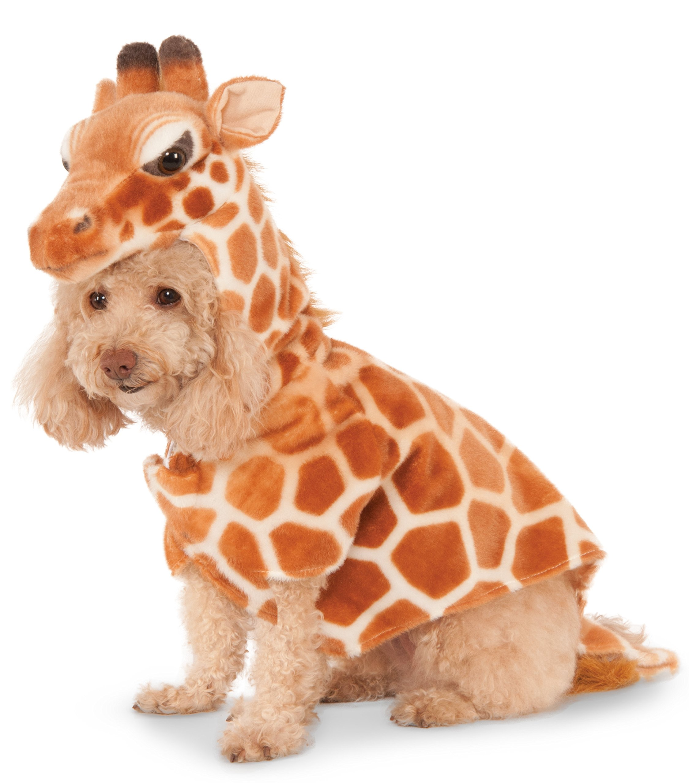 Giraffe Hoodie for Pet, Small