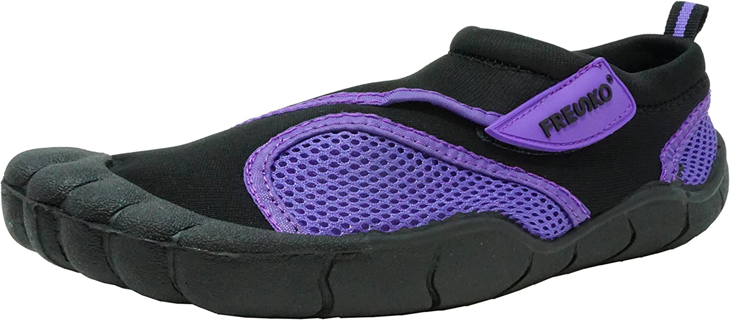 Fresko Men's and Women's Water Shoes with Toes