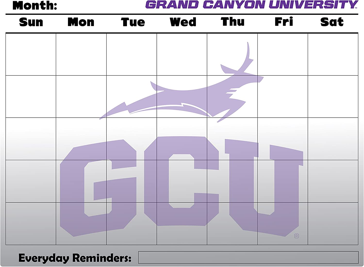 WinCraft Grand Canyon University Antelopes 4 x 4 Perfect Cut Decal