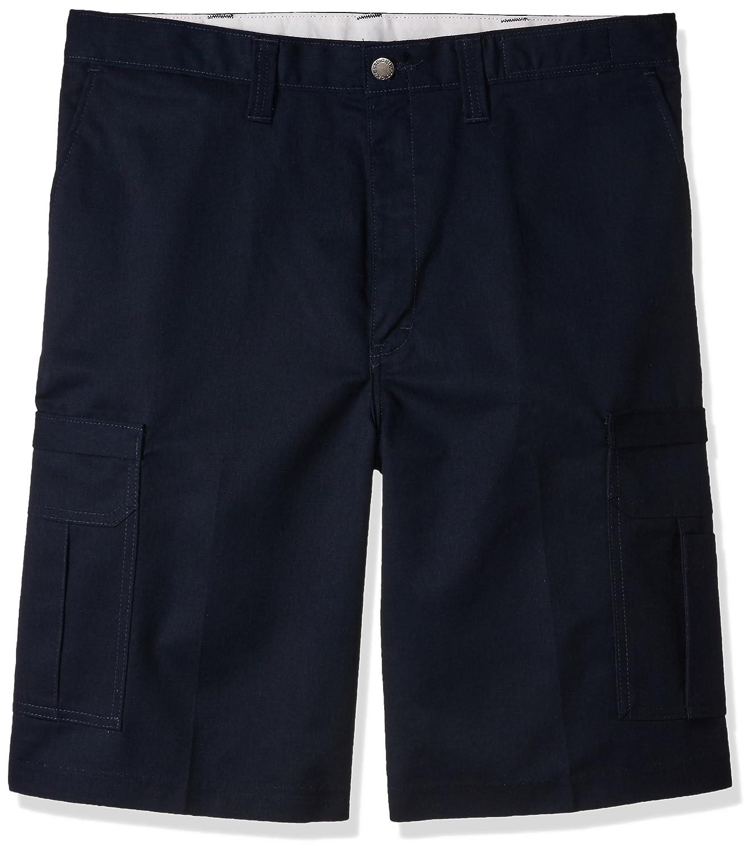 Dickies LR542NV, Men's Premium Industrial Cargo Short, Size 32, Navy Blue Dickies Occupational Workwear