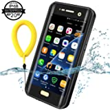 Temdan Samsung Galaxy S7 Edge Waterproof Case, 2018 Wireless Charging Case with Kickstand and Floating Strap IP68 Waterproof Shockproof Case for Galaxy S7 Edge