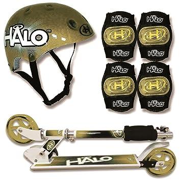 Halo 2004448 - Juego de Almohadillas de Seguridad para Casco, Color Dorado: Amazon.es: Juguetes y juegos
