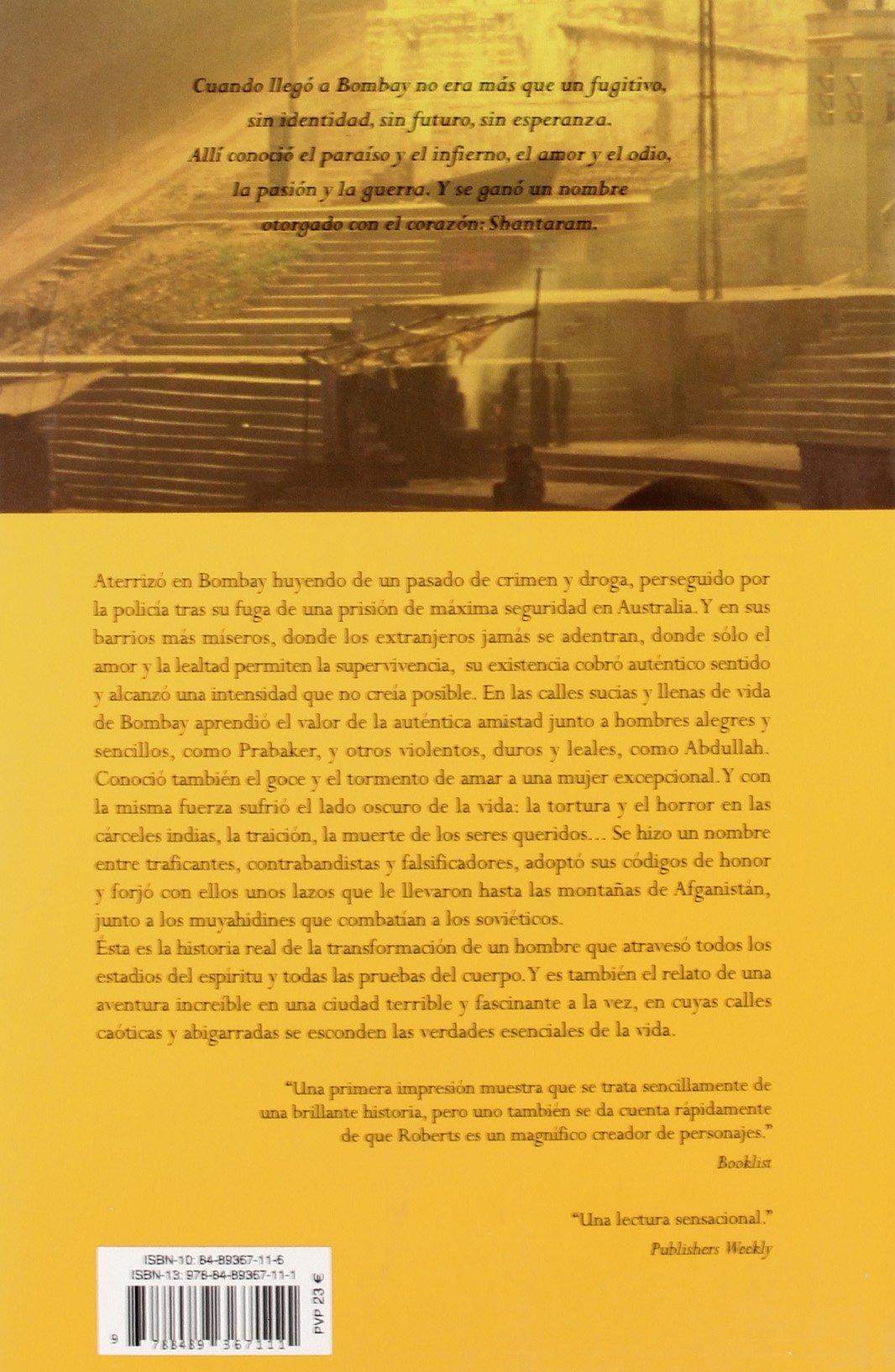 Shantaram (Umbriel narrativa): Amazon.es: Roberts, Gregory David ...