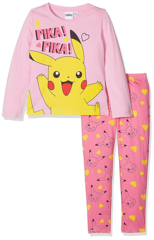 Pokemon Girl's Pikachu Character Pyjama Set BCP-3410-PK
