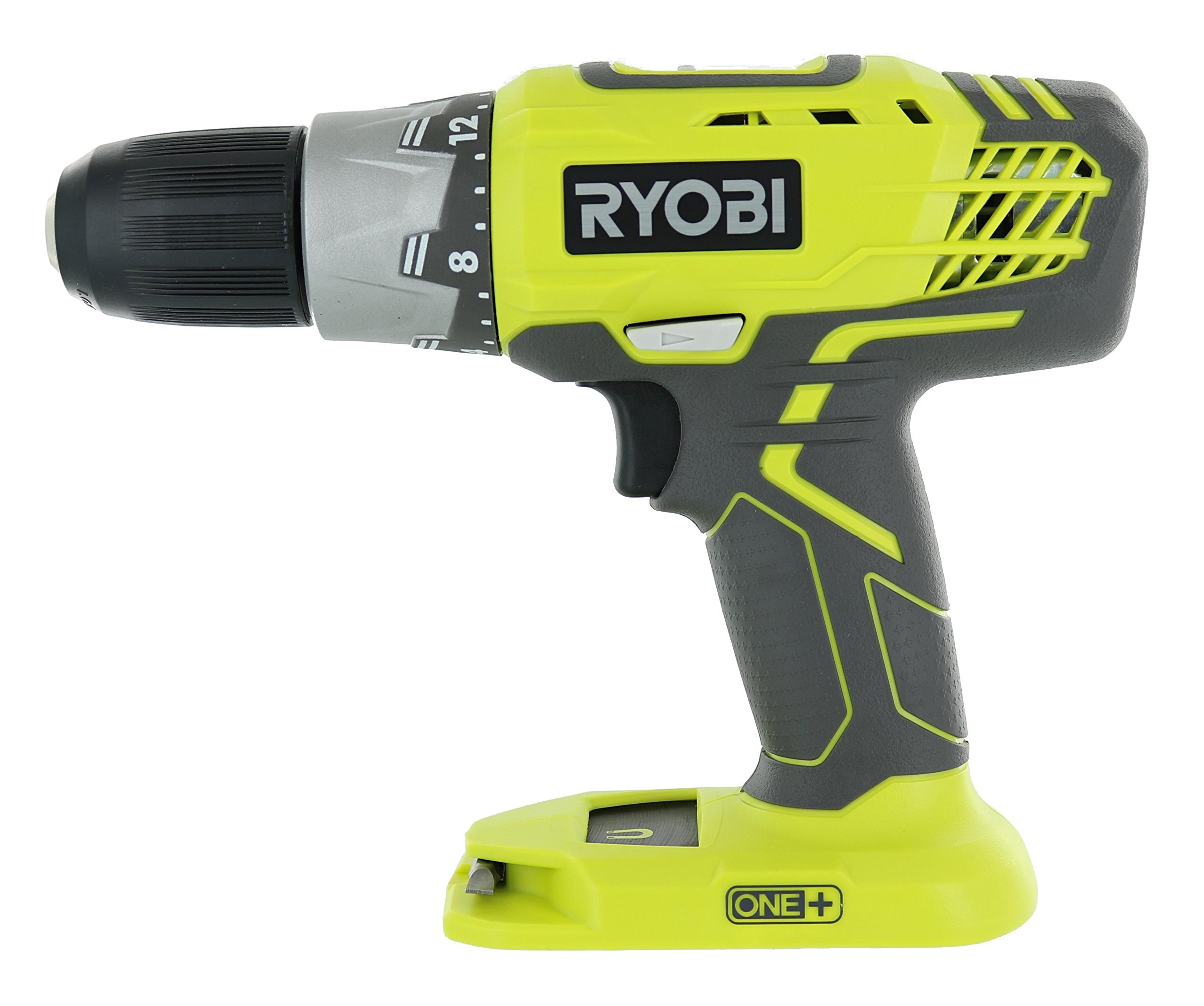 Ryobi P277 One+ 18 Volt Lithium Ion 1/2 Inch 2-Speed Drill Driver (18 Volt Batteries Not Included / Power Tool Only) (Certified Refurbished)