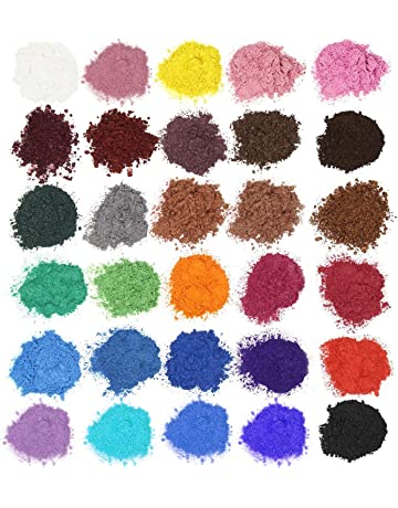 AOND Color Jabón Color Set Resina epoxi Producto Mica Powder para jabón glicerina (Resin