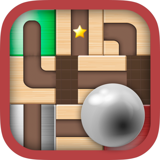 Ball Unblock - slide the blocks and roll the ball ()