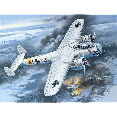 ICM 72304Model Kit Do 17Z–2WWII German Bomber: Toys & Games