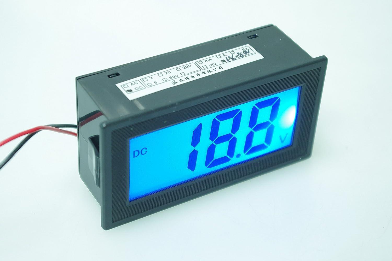 SMAKN/® 2-wires Full closure DC 18-80V LCD Digital Voltmeter Digital DC Voltmeter