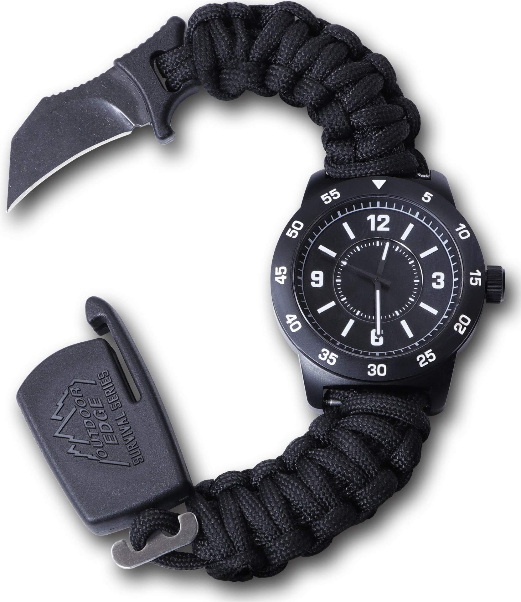 Outdoor Edge OEPW80Z-BRK Paraclaw CQD Watch Medium by Outdoor Edge