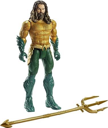 DC Aquaman figura (15cm) Aquaman 1,Con esta figura viene la super héroes de acción directamente a l
