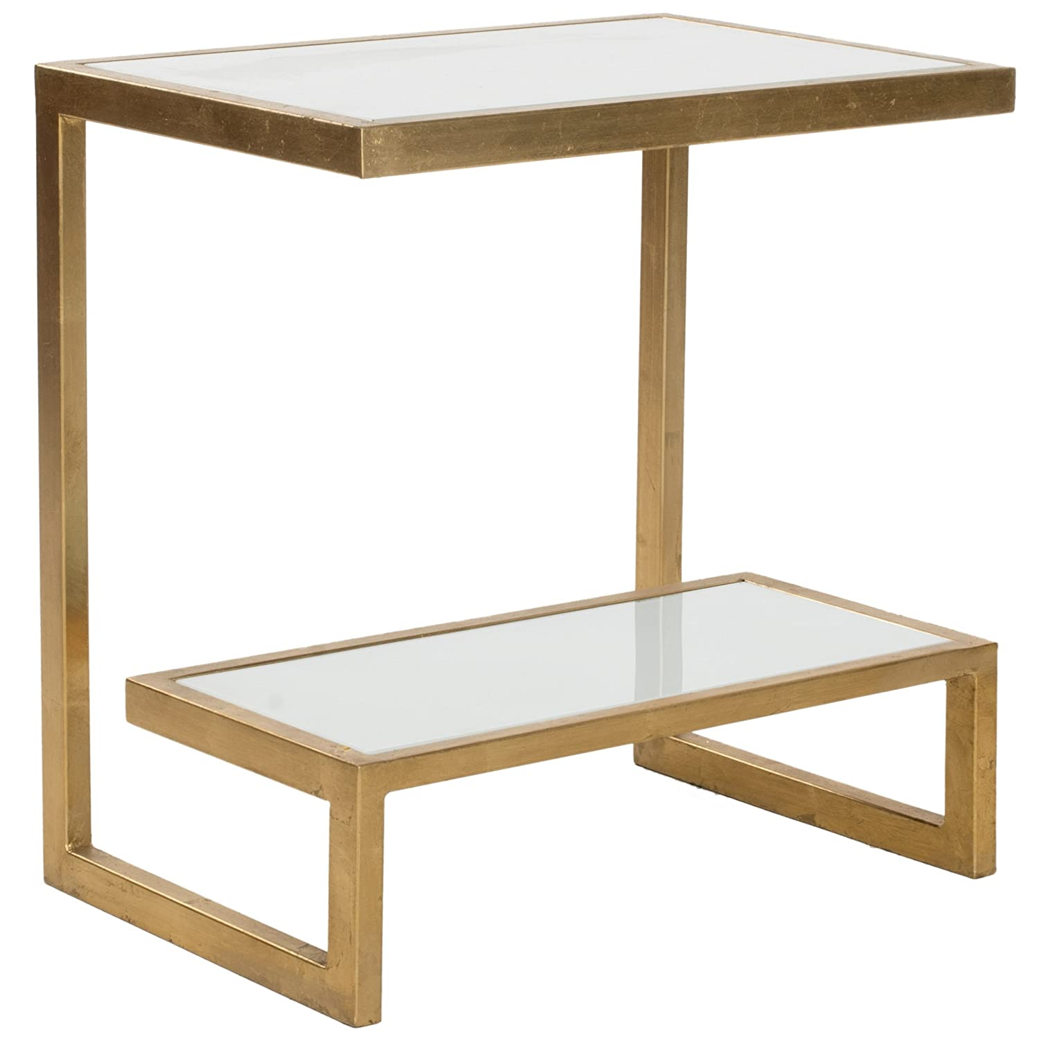 Amazon Safavieh Home Collection Kennedy Gold Accent Table