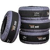 Kurgo Seasonal Tire Tote | Spare Tire Cover | Portable Wheel Bags | Winter Tire Cover | Eco-Friendly Tire Totes | Handle…