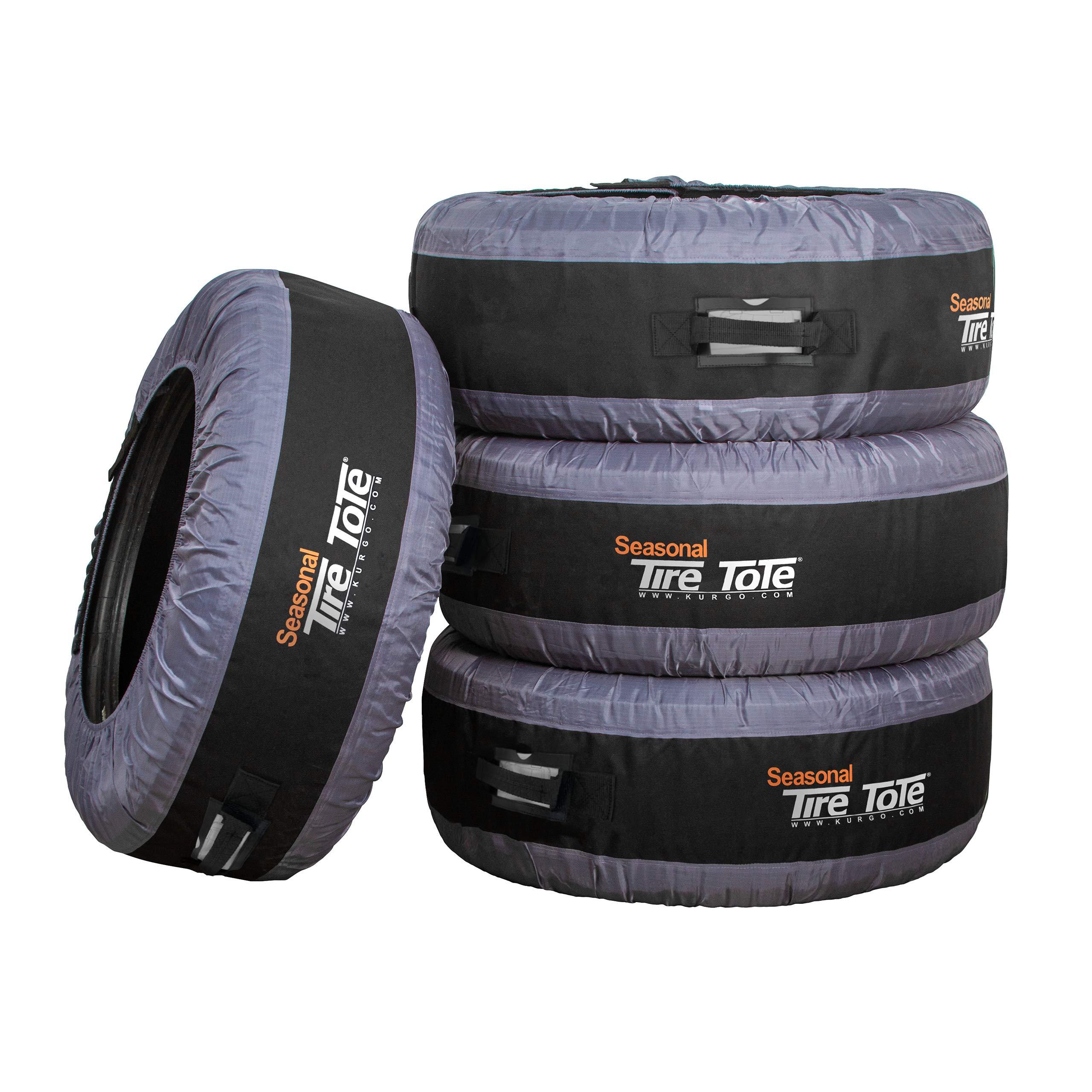 Kurgo Tire Cover & Seasonal Tire Tote (TM) - Pack of 4 (00036)