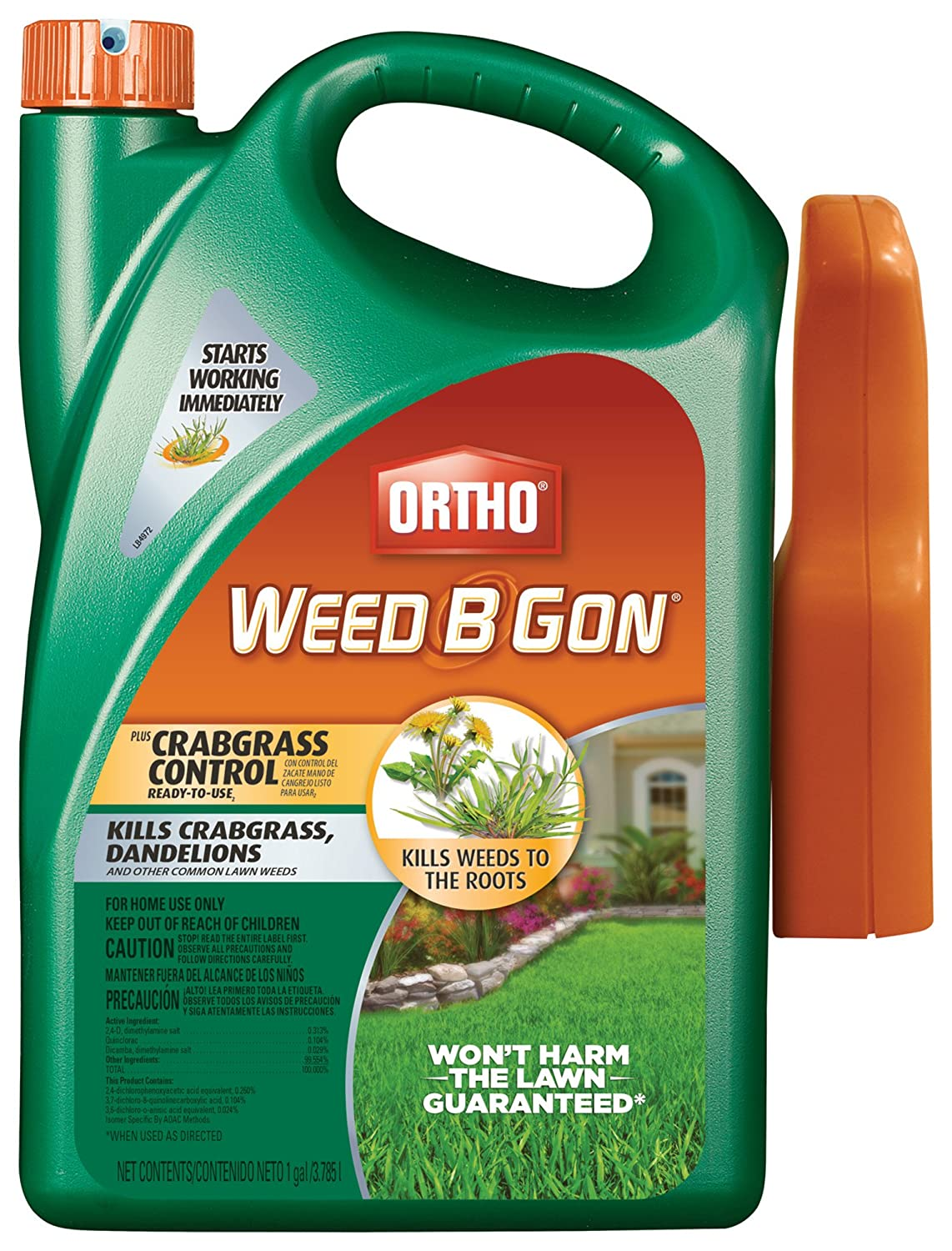 Ortho Weed B Gon Plus Crabgrass Control Ready-To-Use2 Trigger Sprayer