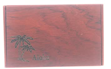 Amazon hawaii business card holder with aloha and palm tree hawaii business card holder with aloha and palm tree colourmoves