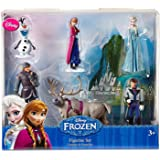Disney Frozen 6 pc Figurine Figure Set Sven, Hans, Anna, Elsa, Kristoff and Olaf