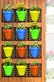 Ideaworks Wall-Mount Planter Set - Decorate Wall
