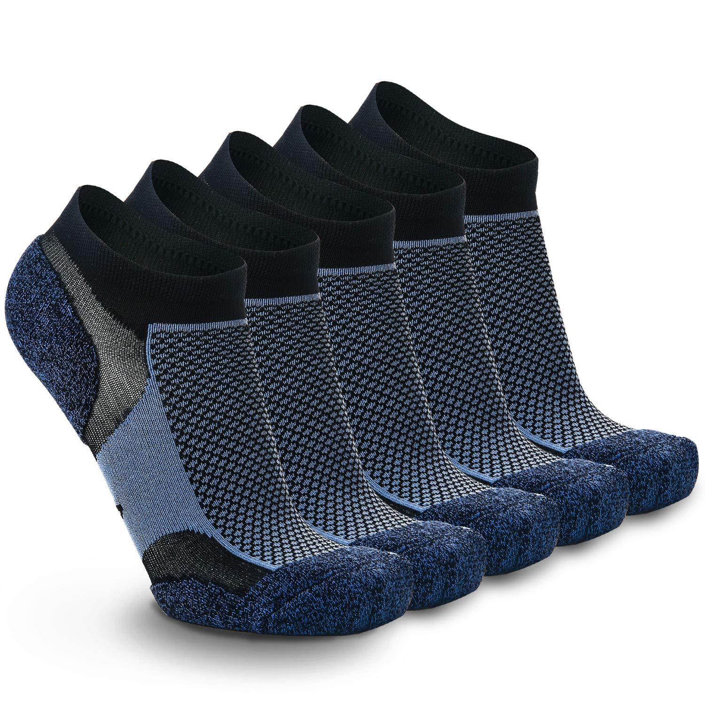 quality design 356e0 95289 Weekend Peninsula Lot de 5 Paires Chaussettes Running Sport Basses Hommes  et Femme, Socquettes Invisibles