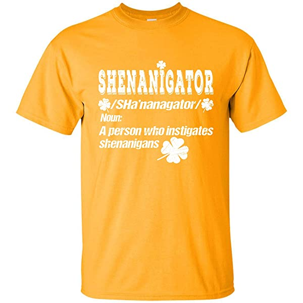 Coincard St Patrick Day Tshirt Defination Shenanigator For Fan Tshirt