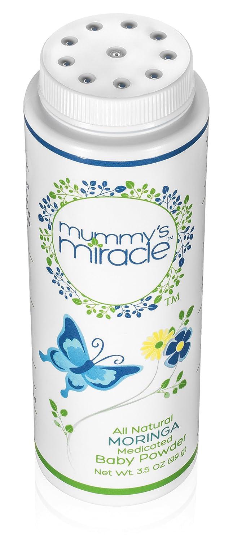 Polvo para bebé totalmente natural Mummys Miracle de Moringa, polvo para bebé sin talco, 104 ml.: Amazon.es: Amazon.es